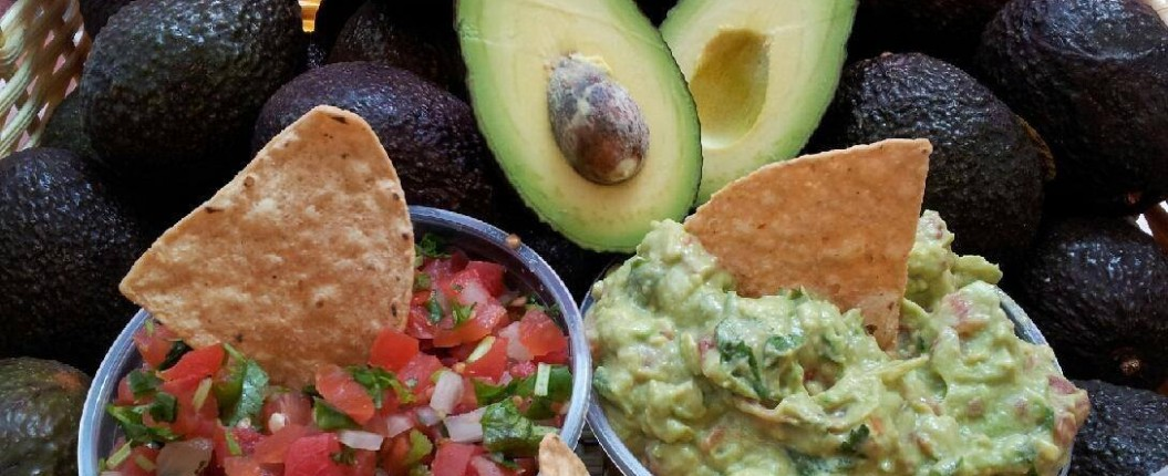 guacamole chips and salsa